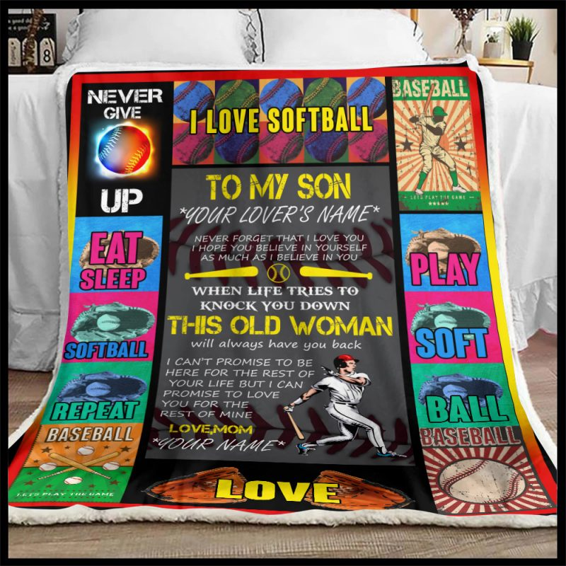Personalized Blanket For Son