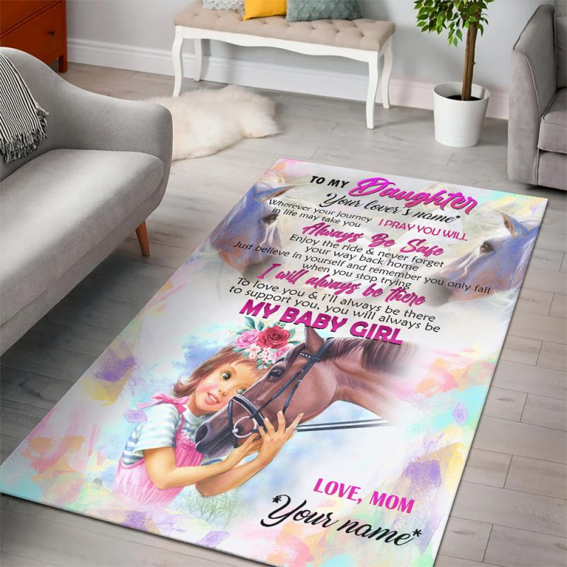 Personalized Rugs for Daughter