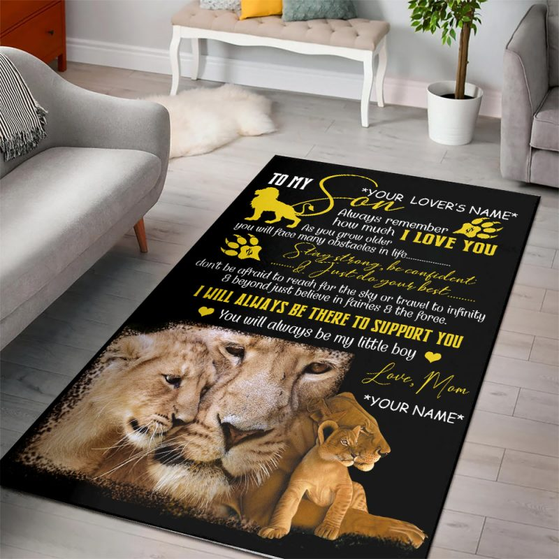 Personalized Rugs For Son