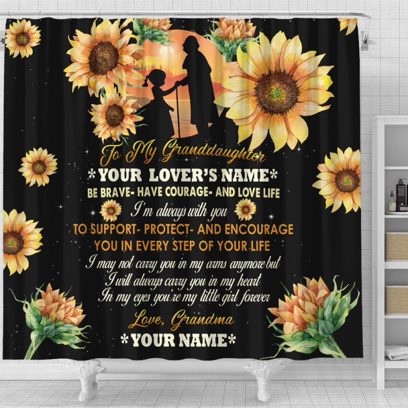 Granddaughter Shower Curtain