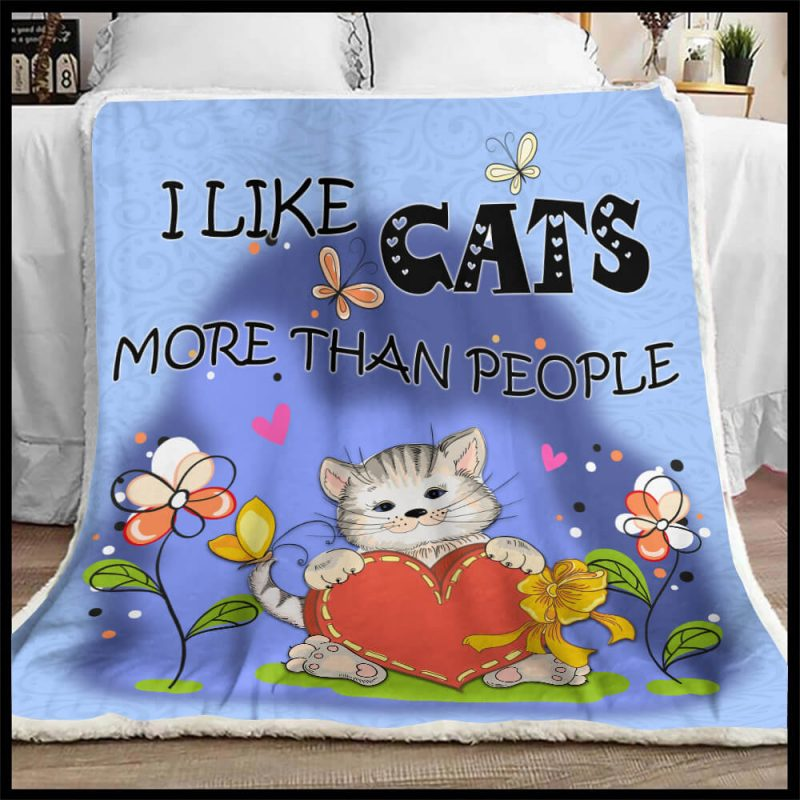 Personalized Cat Blanket