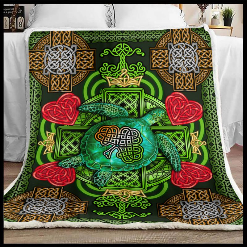 St Patrick's Day Blanket
