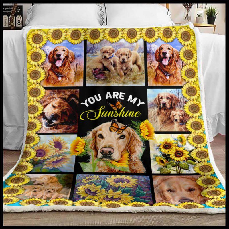 Golden Retriever Blanket