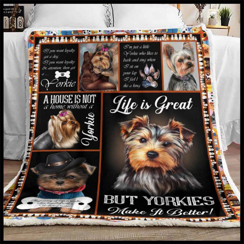 Yorkie Blanket